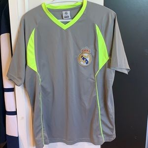 NWOT real madrid practice shirt